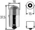 R5W 12V žárovka, osvětleni vnitřního prostoru, výrobce HELLA