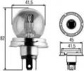 R2 55/50W 24V Bilux žárovka, hlavni světlomet, výrobce HELLA