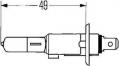 H1 100W 12V žárovka, hlavní světlomet, výrobce HELLA