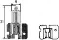 H2 70W 24V žárovka, mlhovka, výrobce HELLA