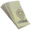 Textilní filtrační sáček pro vysavače CFM