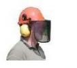 910-0527 přilba sluchátka, štít, příslušenství ke křovinořezům