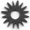 hvězdicová lamela 42 mm, ocelová