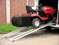 Nájezdové plošiny 225 cm pro travní traktory