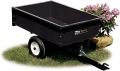 AF 184 - tažený vozík se sklápěcí korbou