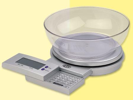 FIT STYLE digitální kuch. váha s výpočtem nutričních hodnot ETA