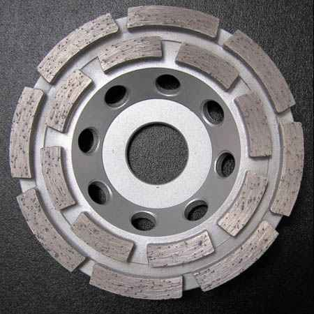 diamantový kotouč brusný 125 mm, BETON dvouřadý, ALFA