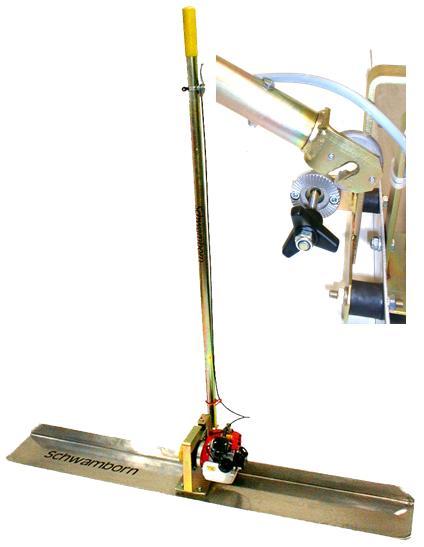 BAS 1500 V, vibrační lišta na beton SCHWAMBORN