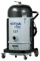 CFM 127 L 3 kW průmyslový vysavač NILFISK