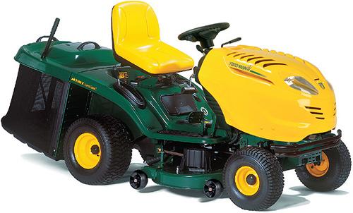 HN 5220 K Deluxe benzinový travní traktor Yard-Man, zadní výhoz