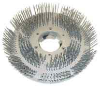 kartáč z pružinové oceli, krátký