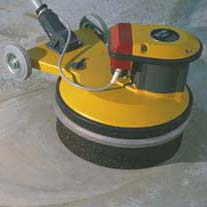 STR 580 E VF Víceúčelový rotační stroj  (bruska, hladička, čistící stroj)
