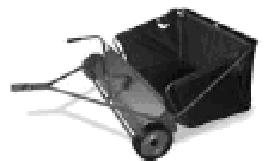 AF 320 - tažený kartáčový sběrač