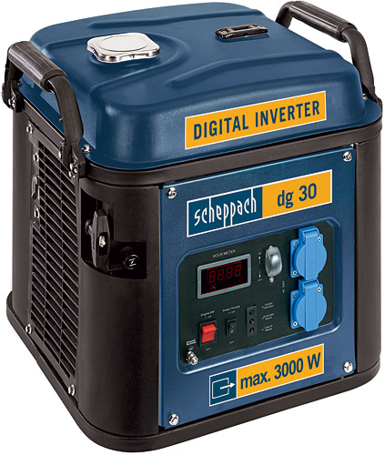 dg 30 - digitální invertorová elektrocentrála 3000 W